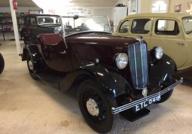 1938 Morris Eight Series II 2 Seat Tourer