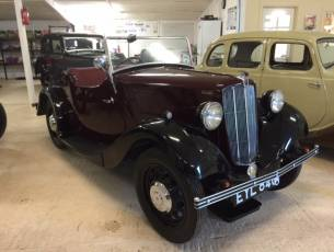 1938 Morris Eight Series II 2 Seat Tourer - NOW SOLD