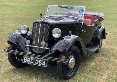 1938 Morris Eight Series II - four seat tourer