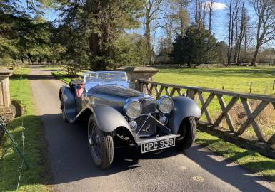 1938 SS Jaguar 2 1/2 litre Sports