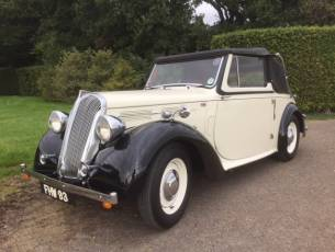 1938 Standard Flying Twelve Drophead Coupe - Now Sold