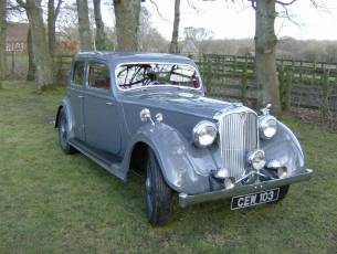 1940 Rover Twelve Sports Saloon - Now Sold