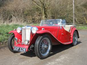1946 MG TC - Now Sold