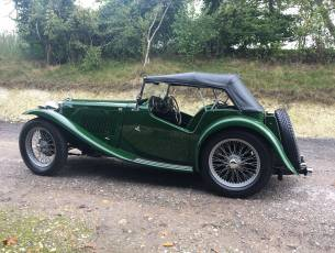 1947 MG TC – Presented to Concours standard
