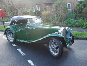 1947 MG TC - Restored to a very high standard