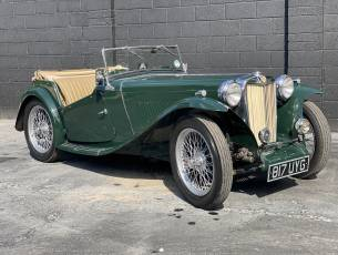 1948 MG TC - older restoration, much recent expenditure