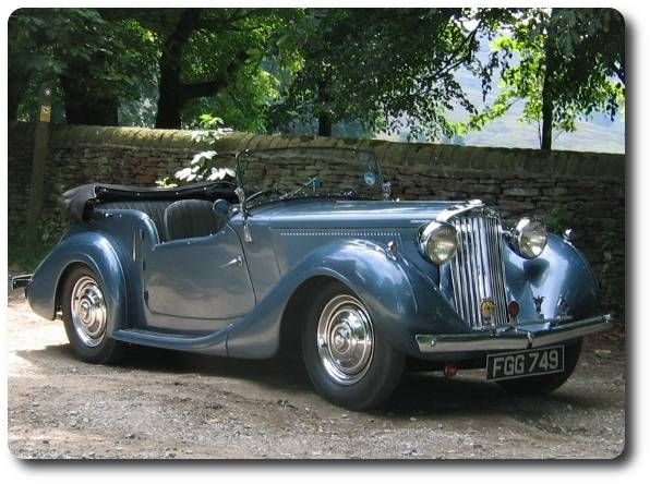 1948 Sunbeam Talbot 10 Sports Tourer - Arriving Soon