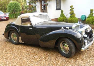1948 Triumph 1800 Roadster - Arriving Soon