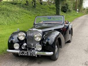 1949 Triumph 2000 Roadster - (Four speed gearbox)