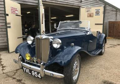 1950 MG TD - original RHD - One of the very best available!
