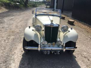 1950 MG TD - Totally restored to concours condition