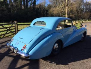 1952 Healey Tickford Sports Saloon