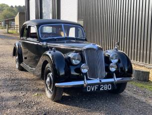 1953 Riley RMF 2 ½ Litre Saloon