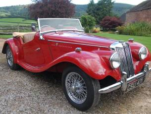 1954 MG TF - Now Sold