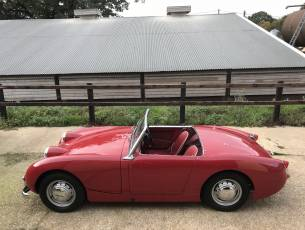 1959 Austin Healey Sprite Mk I - Cherry Red - Lovely restored example