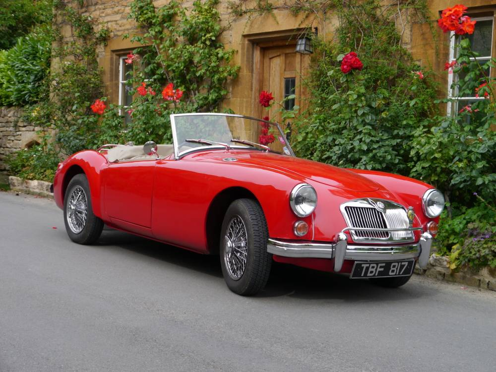 1960 MGA 1600 Roadster – Arriving mid October – Excellent Example