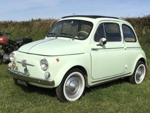 1961 Fiat 500D finished in Verde Chiaro