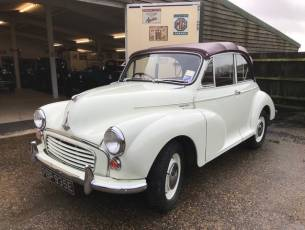 1967 Morris Minor 1000 Convertible - Now Sold