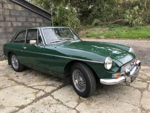 1968 MGB GT – Rebuilt with Heritage Bodyshell