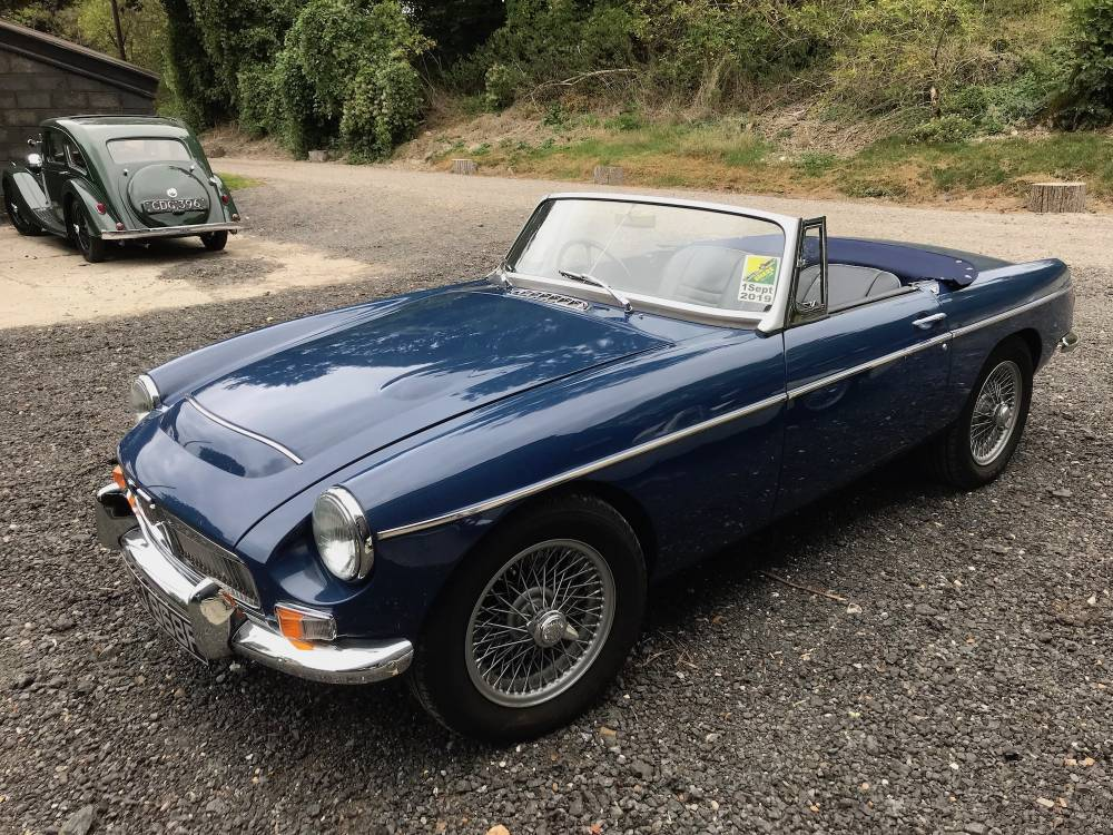 1968 MGC Roadster - recent bare shell restoration