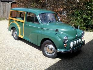 1968 Morris Minor 1000 Traveller - 38,500 miles from new