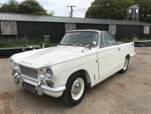 1968 Triumph Vitesse Convertible - Just Arrived!