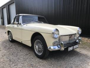 1969 MG Midget Mklll (pre-face lift model)