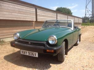 1980 MG Midget 1500 - NOW SOLD