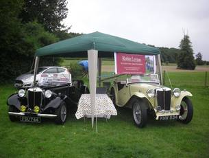 MG Car Club South East Centre - Summer Gathering at Weald & Downland Museum near Goodwood
