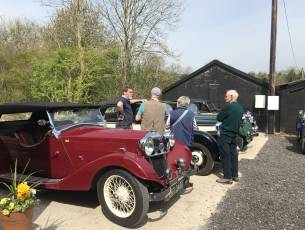 The Hampshire Area Riley Register Hosted Coffee & Motoring Chatter