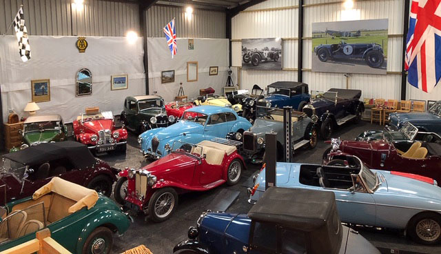 Vintage & Classic Car Specialist selling Riley, MG, Austin